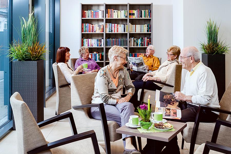Seniorenwohnen mit Gesellschaft